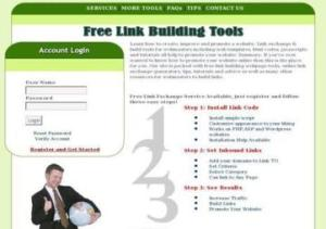 Free Link Building Tool